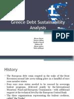 Greece Debt Sustainability Analysis Final
