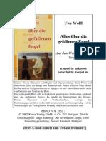 Uwe Wolff - Alles über die gefallenen Engel