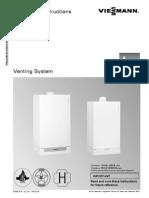 Vitodens Venting Manual