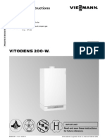 Vitodens 200 w Installation Instructions