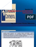 Sesión 1-A Introduccion - Planeamiento Estrategico