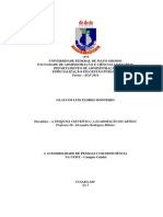 A Acessibilidade de Pessoas Com Deficiãšncia Na Ufmt - Glaucos Monteiro - Artigo Final