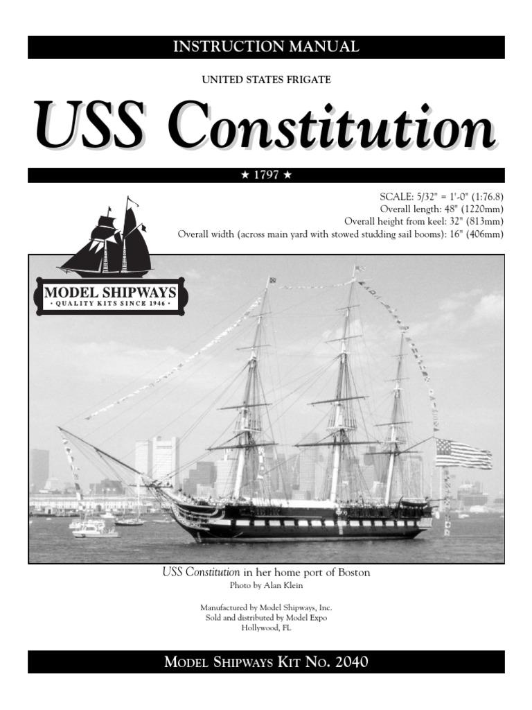 Uss Constitution Manual Paint Soldering