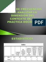 tablas de frecuencias contexto pptx