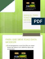 Manual Para Toad Data Modeler