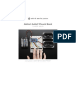 Adafruit Audio Fx Sound Board