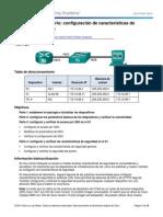2.2.4.11 Lab - Configuracion de Caracteristicas De