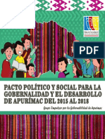 Acuerdo Gobernabilidad Apurímac 2015-2018