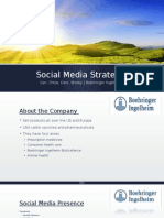 Social Media Strategy Plan Power Point