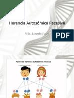 Herencia Autosomica Recesiva Clase 6