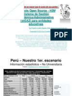 SIGA2 - Sistema de Gestión Académico / Administrativo para entidades educativas