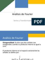 Análisis de Fourier 2015