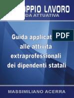 Guida Applicativa Attivita Extra Dipendenti Statali 2014