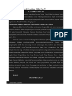 Contoh Pelaporan Proyek Perubahan Diklat Pim IV