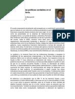 Importancia de Las Politicas Contables en El Proceso de Auditoria - Articulo