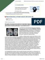 Neurociencias y el lado oscuro del amor (II) -- La Ciencia del Espíritu -- Sott.net