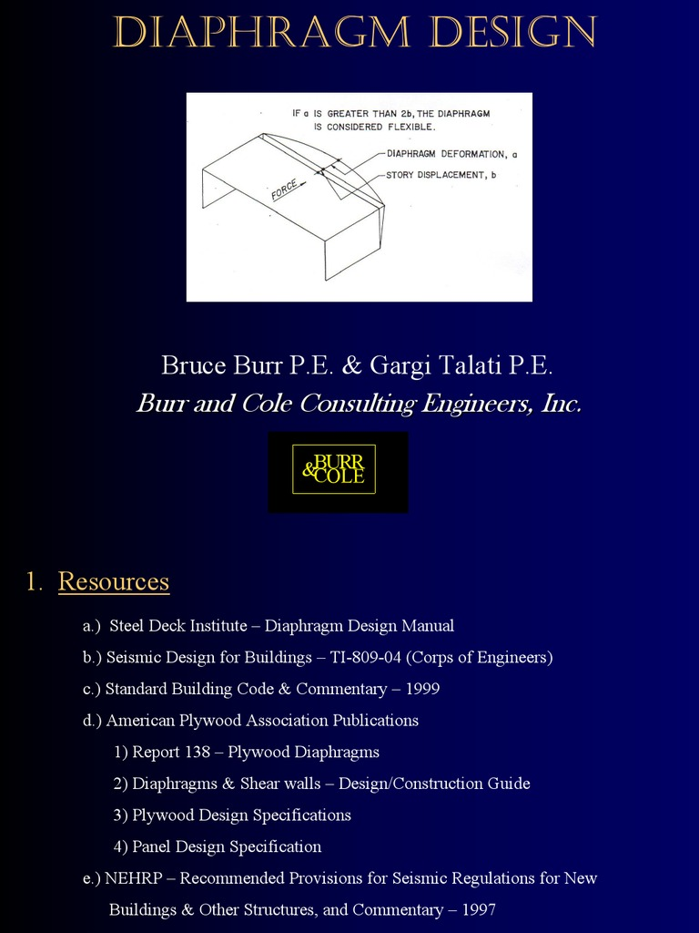 Diaphragm design beam structure framing construction fandeluxe Choice Image