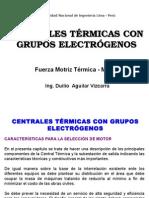 Centrales Termicas Con Grupos Electrogenos