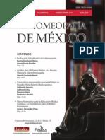 La Homeopatía de México, no. 689 (marzo-abril de 2014)