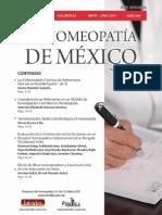 La Homeopatía de México, no. 690 (mayo-junio de 2014)