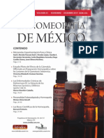 La Homeopatía de México, no. 693 (noviembre-diciembre de 2014)