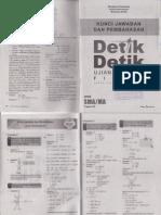 Pembahasan Buku Detik-Detik UN Fisika untuk Program IPA