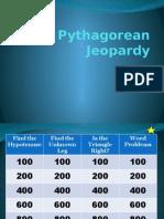 pythagorean jeopardy
