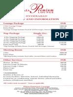 Tariff Card Hyd 4 by 9 Inch Oct 01 2012