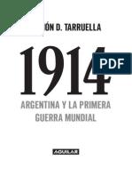 Primeras Paginas 1914 Argentina Primera Guerra Mundial