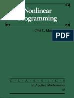 Nonlinear Programming - Olvi L. Mangasarian