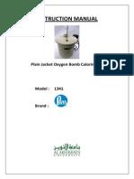 Bomb Calorimeter Manual