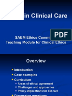 Errors in Clinical Care - Revised 12-26-06