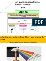 01 Introdução a Óptica Geométrica