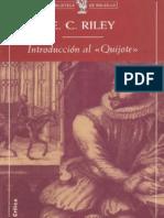Riley Edward C - Introduccion Al Quijote