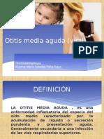 Otitis Media Aguda (Viral) presentación
