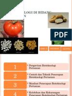 Bioteknologi Di Bidang Pertanian-1