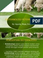 Bioteknologi Dalam Bidang Perternakan