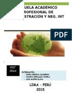 Informe Gestion Ambiental Grupo 5 - Turno Mañana - 8vo