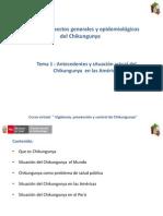 Cap i Tema i Antecedentes y Situacion Actual Del Chikungunya