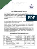 Edital Concurso Prefeitura de Érico Cardoso-BA 2015