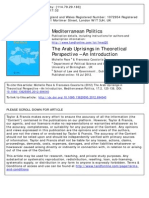 The Arab Uprisings in Theoretical Perspective