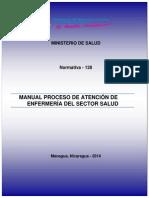 N-128-Manual Del Proceso de Atencion de Enfermeria Del Sector Salud