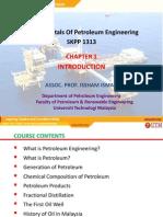 Chapter 1 Introduction - Fundamental Petroleum Engineering, UTM