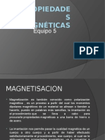 Propiedades Magnéticas