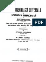 Istoria Bisericeasca Universala de Eusebiu Popovici