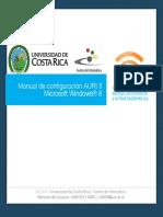 AURI3 Manual de Configuracion Windows8