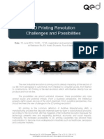 Draft Programme 3d Printing