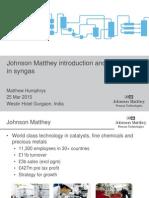 02 JM Intro & Syngas Heritage