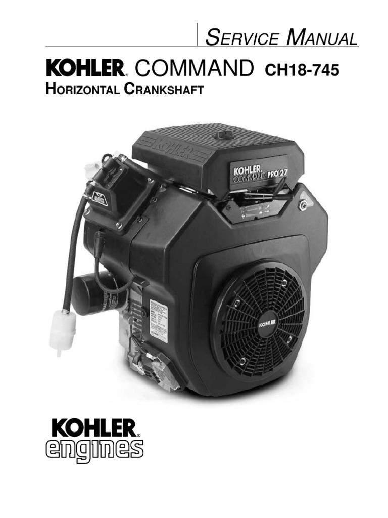 kohler ch service manual