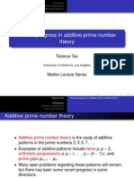 Prime Number Theory1